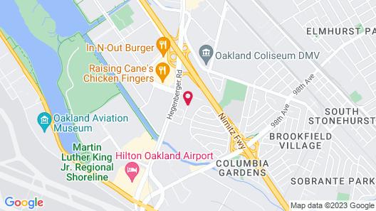 Best Western Plus Airport Inn & Suites Map