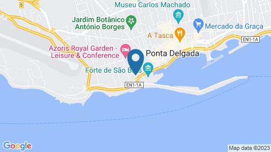 My Story Hotel Vila Nova Map