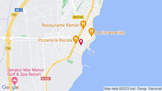 Apartamentos 525 Map