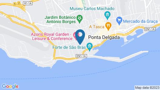 Hotel Ponta Delgada Map