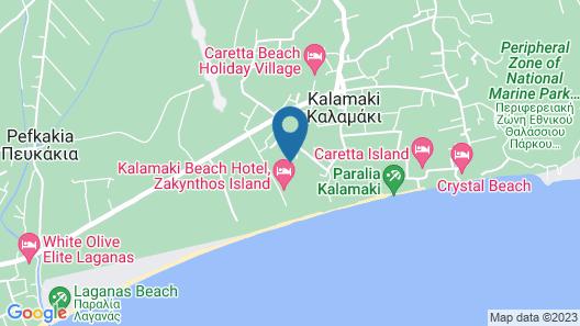 Bitzaro Palace Hotel - All inclusive Map