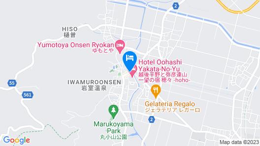 Hotel Oohashi Yakata-no-Yu Map