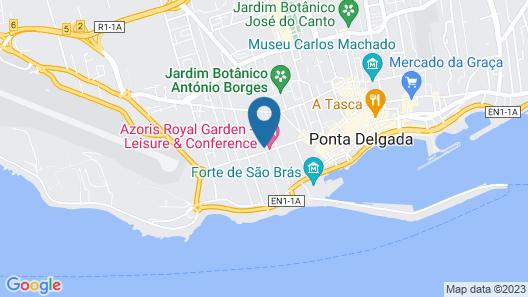 Azoris Royal Garden Map