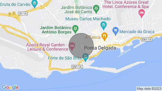 Central Guesthouse - Chambre Lits Jumeaux Map