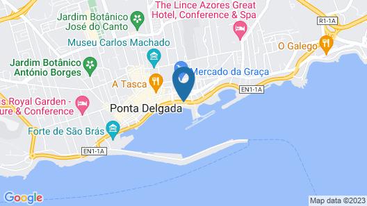 Hotel Gaivota Azores Map