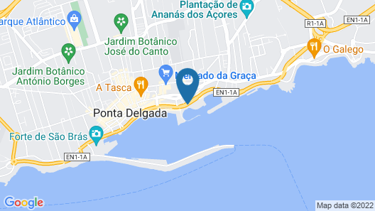 Grand Hotel Açores Atlântico Map