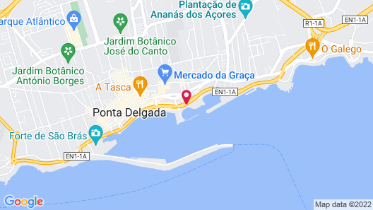 Grand Hotel Açores Atlântico Map