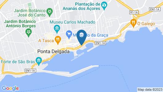 Hotel Marina Atlântico Map