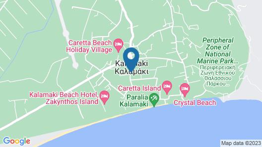 Venus Hotel & Suites Map