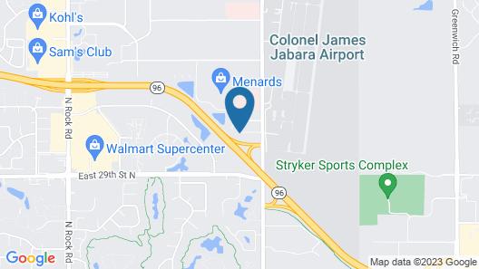 Sonesta Simply Wichita Northeast Map