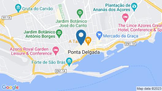Comercial Boutique Azores Map
