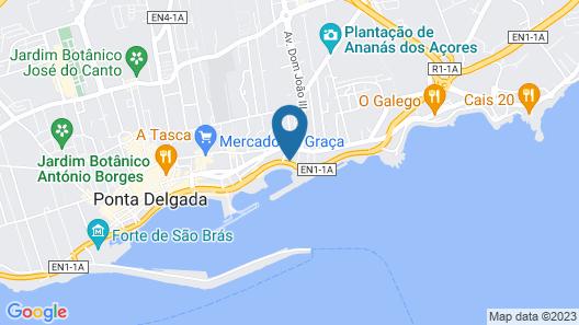 Azor Hotel Map