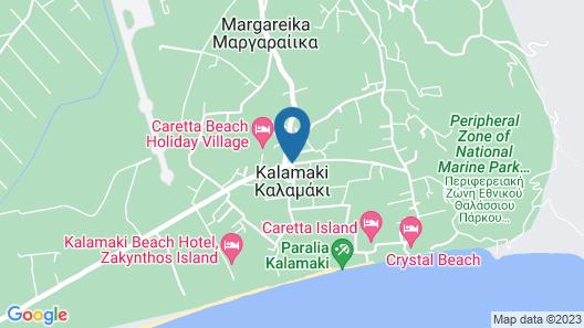 Caretta Beach Resort & Waterpark - All Inclusive Map