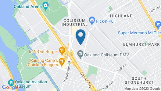 La Quinta Inn & Suites by Wyndham Oakland Airport Coliseum Map