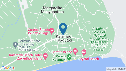 Vanessa Hotel Map
