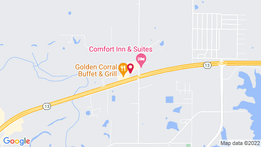 Holiday Inn Carbondale-Conference Center Map