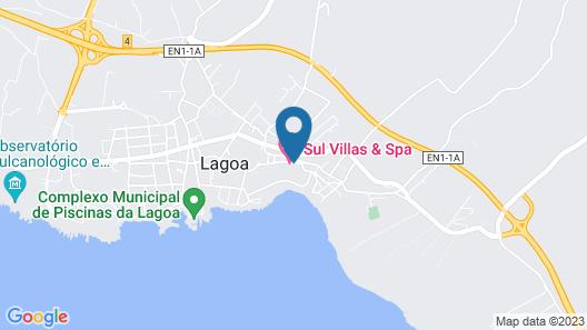Sul Villas & Spa Map
