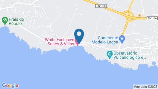 White Exclusive Suite & Villas Map