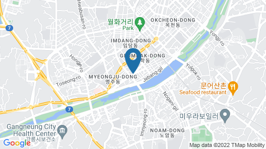 Gangneung Tourist Hotel Map