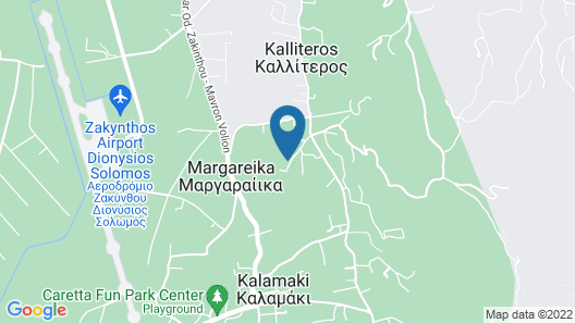 Anagenessis Suites & Spa Resort - Adults Only Map