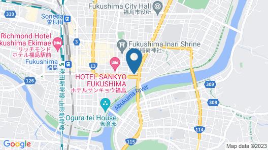 Hotel Fukushima Hills Map