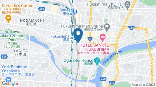 JR-EAST HOTEL METS FUKUSHIMA Map