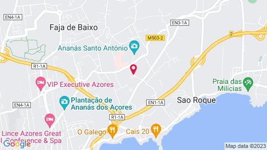 Herdade do Ananás Map