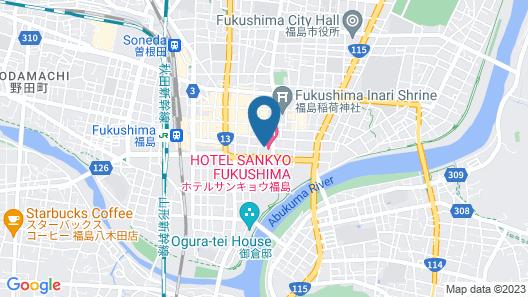 HOTEL SANKYO FUKUSHIMA Map