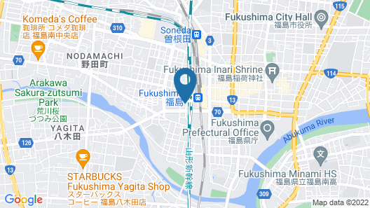APA HOTEL FUKUSHIMA-EKIMAE Map