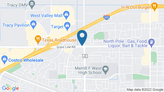 Home2 Suites by Hilton Tracy Map