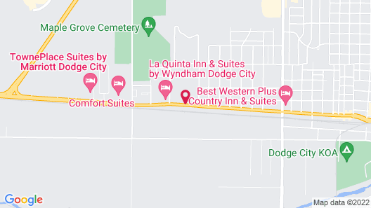 Windsor Inn & Suites Map