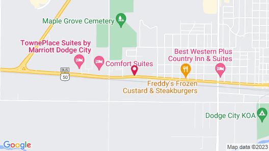 La Quinta Inn & Suites by Wyndham Dodge City Map