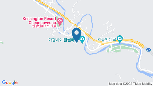 Gapyeong Dream Pension Map