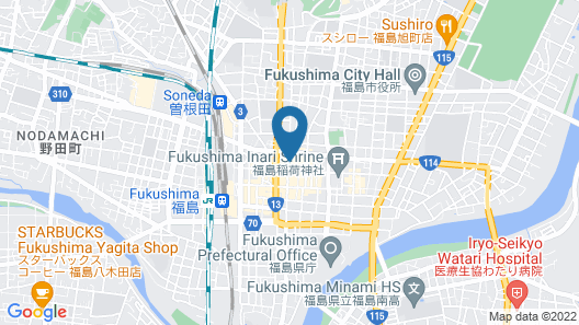 miniHOTEL Maa's  Map