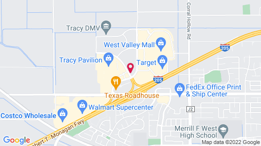 Extended Stay America Stockton - Tracy Map