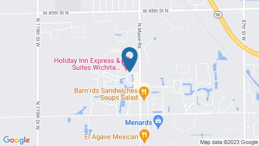 Holiday Inn Express & Suites Wichita Northwest, an IHG Hotel Map