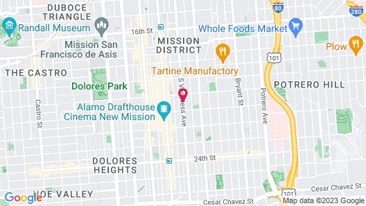 Inn San Francisco Map