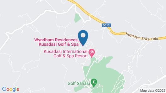 CLC Kusadasi Golf & Spa Resort - All Inclusive Map