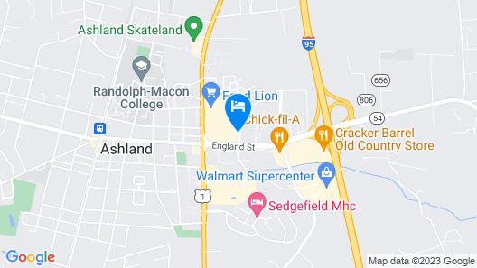 Sleep Inn & Suites Ashland - Richmond North Map