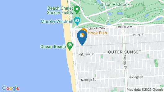 Beach Motel Map