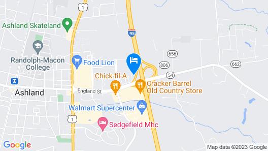 Tru by Hilton Ashland Map