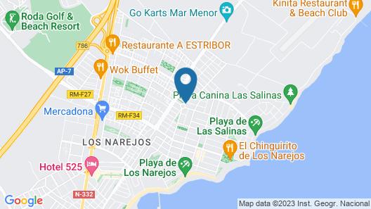 Destinos de Sol Los Alcázares Map