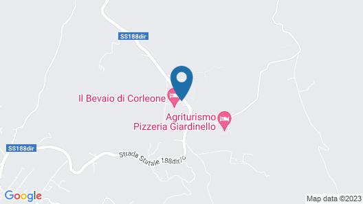 Il Bevaio di Corleone Map