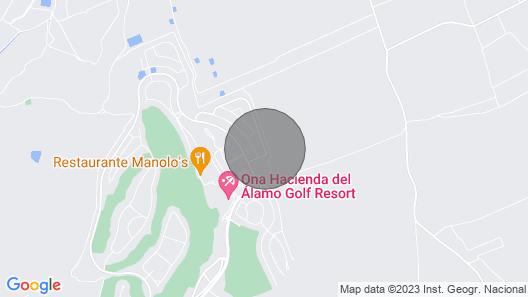 HL026 luxurious villa, HDA golf resort Map