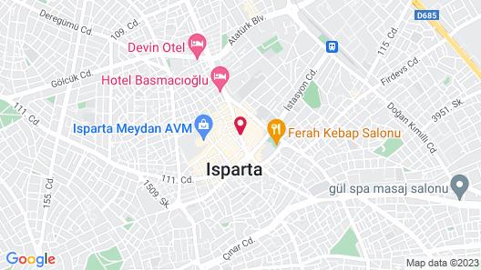 Otel Akkoc Map