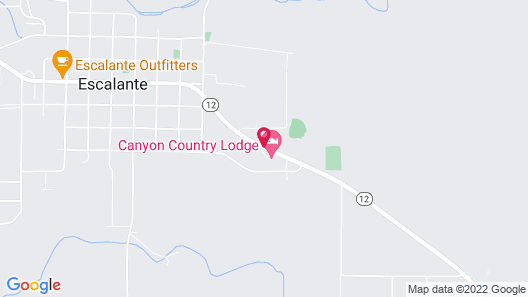 Canyon Country Lodge Map