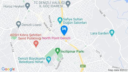 North Point Hotel Map