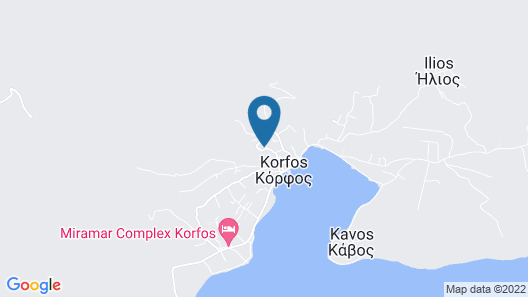 Nice Home in Korfos, Korinthos With 3 Bedrooms and Wifi Map
