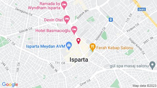 Otel King Map
