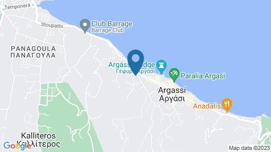 Anamar Zante Hotel Map